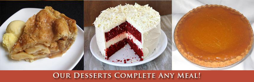 desserts body text